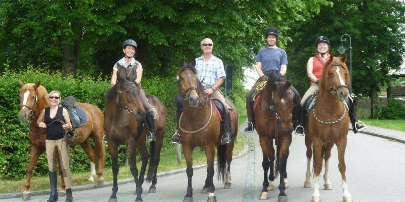 Wanderritt Hohenbrunn 14. Juni 2015
