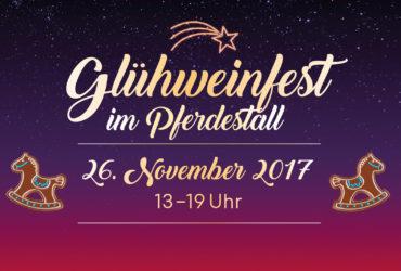 GLÜHWEINFEST 26. NOVEMBER 2017