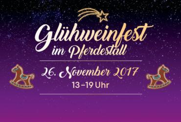 GLÜHWEINFEST 26. NOV 2017