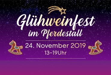 GLÜHWEINFEST 24. NOVEMBER 2019
